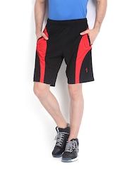 Men Black & Red Shorts Jockey