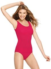 Jockey Pink Seamless Shaping Tank Shapewear 6706-0105