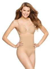 Jockey Skin-Coloured Seamless Shaping High-Waist Bikini Shapewear 6704