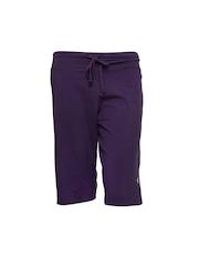 Jockey Women Purple Lounge Shorts 1308