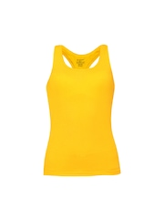 Jockey Women Yellow Tank Top