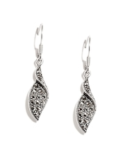 Johareez Sterling Silver Drop Earrings