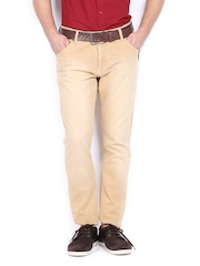 John Players Men Beige Super Skinny Fit Jeans