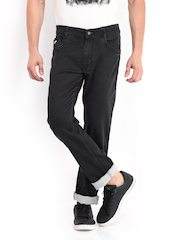 John Players Men Black Slim Fit Jeans