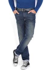 John Players Men Blue Skinny Fit Jeans