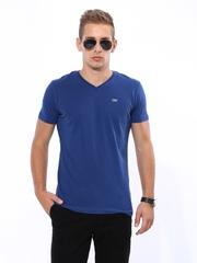 John Players Men Blue T-shirt