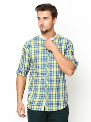 John Players Men Multicoloured Trim Fit Casual Shirt