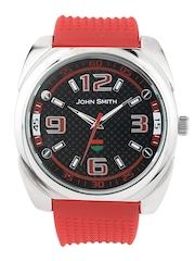 John Smith Men Black Dial Watch JS 10016 GRD RD