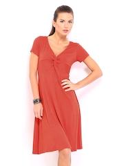 John Rocha by Debenhams Red Fit & Flare Dress