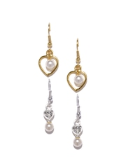 Jpearls Set of 2 Pearl Drop Earrings