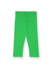 Juniors Girls Green Leggings