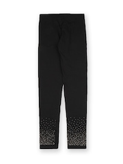Juniors Girls Black Leggings