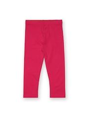 Juniors Girls Pink Leggings