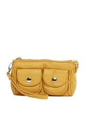 Kiara Yellow Clutch