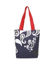 Kanvas Katha Navy Tote Bags