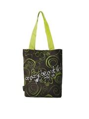Kanvas Katha Women Brown Printed Tote Bag