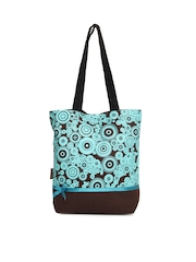 Kanvas Katha Women Brown Tote Bag