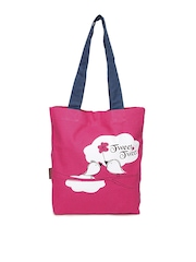 Kanvas Katha Women Pink Tote Bag