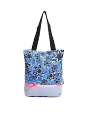 Kanvas Katha Blue Tote Bag