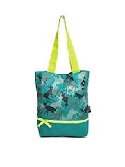 Kanvas Katha Green Tote Bag