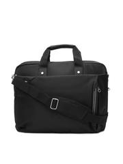Kara Unisex Black Laptop Bag