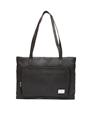 Kara Brown Leather Handbag