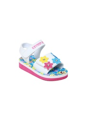 Keymon Ache Girls White & Blue Sandals