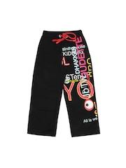 Keymon Ache Kids Black Track Pants