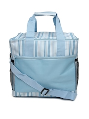 Kiara Blue Striped Baby Bag