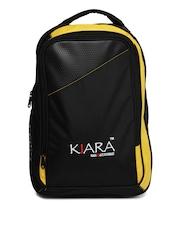 Kiara Unisex Black Backpack