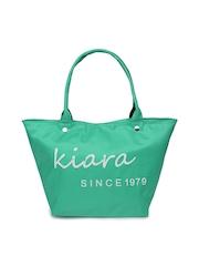 Kiara Women Green Tote Bag