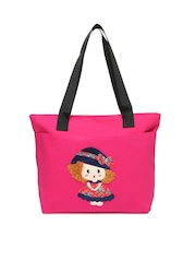 Kiara Women Pink Tote Bag