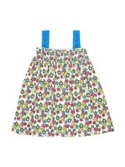 Kid Studio Girls Multicoloured Printed Dress