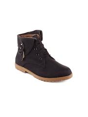 Kielz Women Black Boots