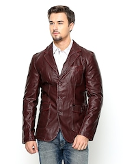 Killer Men Maroon Jacket