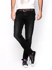 Killer Men Black Super Slim Fit Jeans