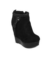 Kiss Kriss Women Black Boots