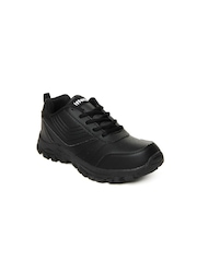 Kittens Boys Black Casual Shoes