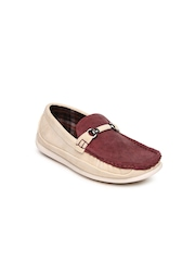 Kittens Boys Maroon Loafers