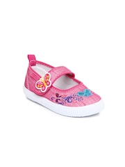 Kitten Girls Pink Casual Shoes