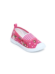 Kittens Girls Pink Casual Shoes