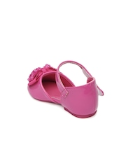 Kittens Girls Pink Flat Shoes