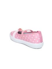 Kittens Girls Pink Flat Shoes