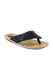 Knight n Gale (England) Men Black Leather Sandals