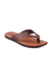 Knight n Gale (England) Men Brown Leather Sandals