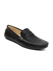 Knotty Derby Men Black Tom Loafers