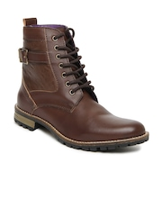 Knotty Derby Men Brown Diggory Derby Boots