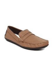 Knotty Derby Men Brown Tom Leather Loafers