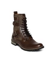 Knotty Derby Men Brown Boots