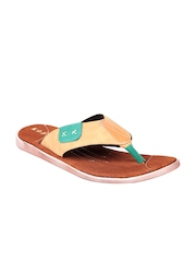 Koboy Men Tan Orange Sandals